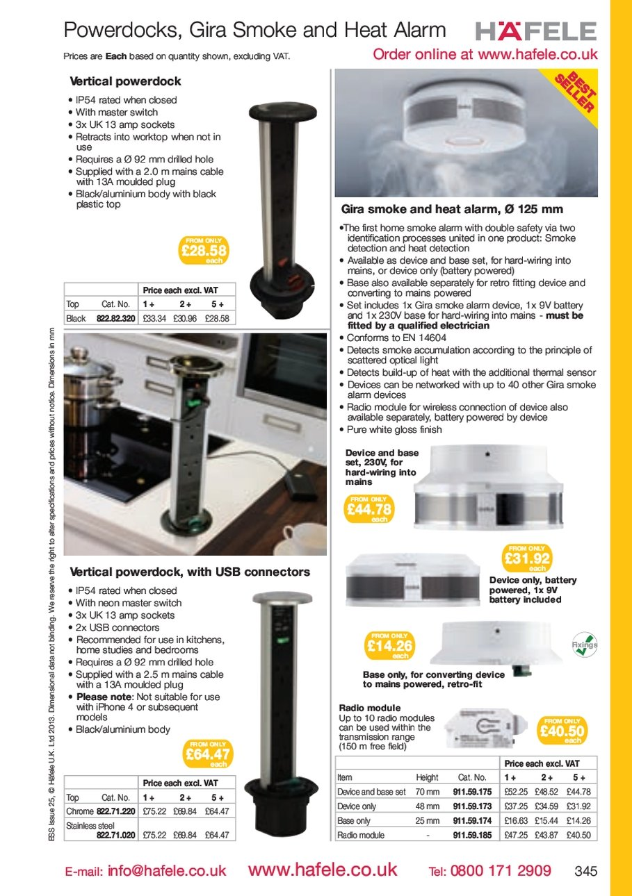Gira Smoke Heat Wiring Alarms In Parallel And Alarm 125 The First Home With Double Safety Via Two Identification Processes United One Product Detection