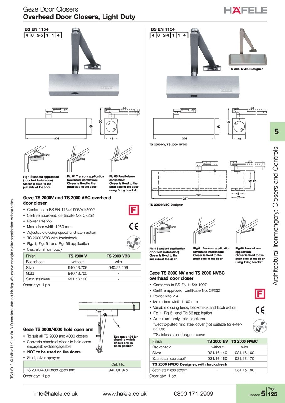 overhead light duty rh hafele com geze ts 2000 nv instructions geze ts 2000 instructions