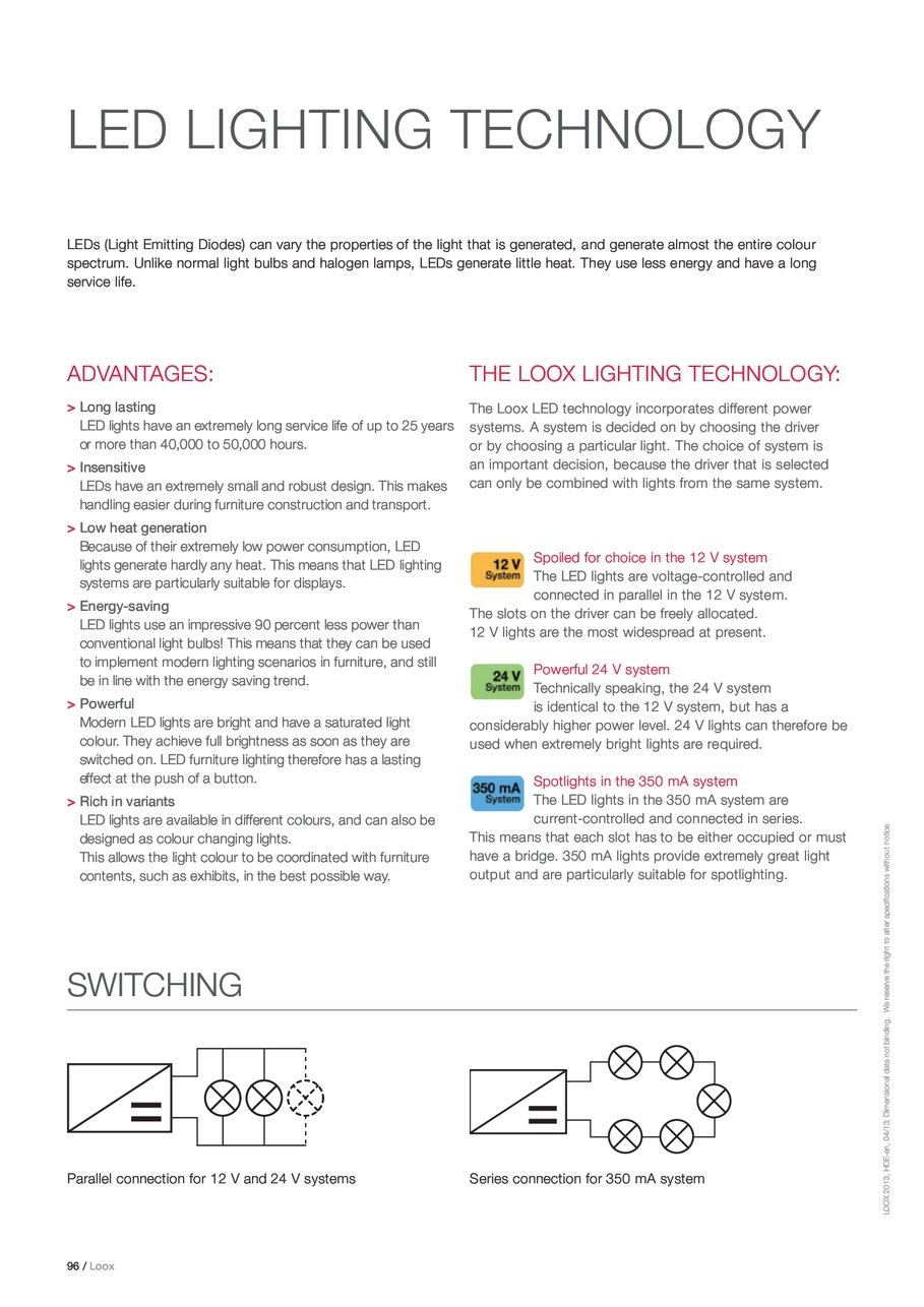 Loox Hdeen Dimensional If A Led Is Used Instead Of Bulb The Connections Will Require Bit