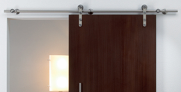 Häfele Barn door hardware makes a grand statement in kitchens and gives flexibility to the homeowner who entertains. Barn door hardware can also serve as ... & Häfele - Barn Door Hardware